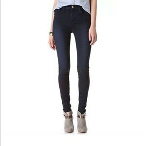 J Brand MARIA Skinny Dark Wash Atmosphere Size 24